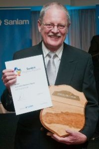 "Sanlam Knysna Awards - ""Small Business Award 2014"" - E4Electrical"